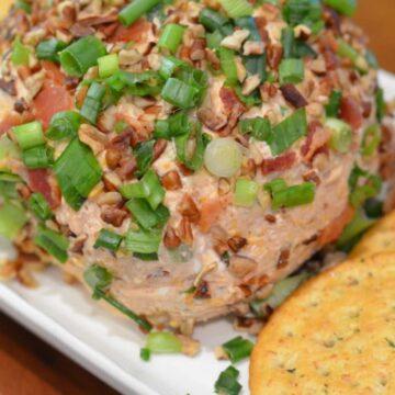 BBQ Bacon Cheese Ball
