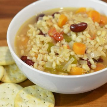 Mom's Vegetable Barley Soup
