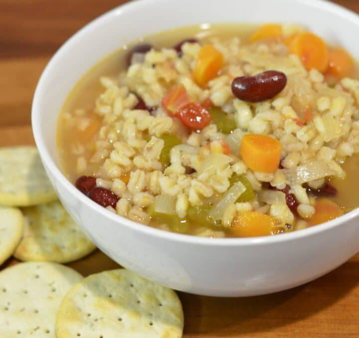 Mom's Vegetable Barley Soup