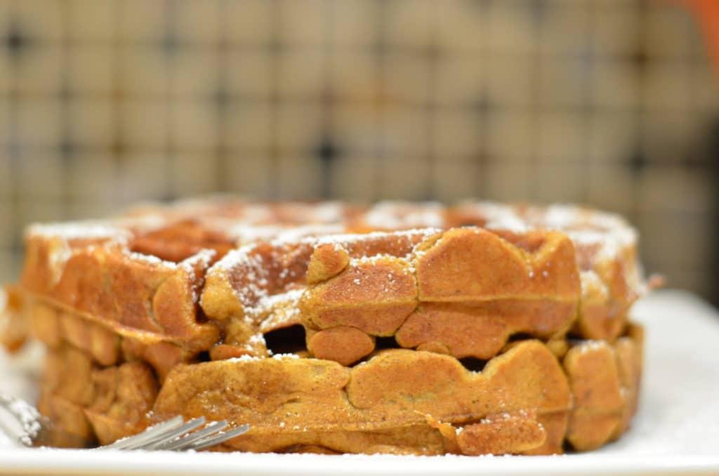Amazing Pumpkin Waffles