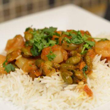 Dayle's Coconut Curry Shrimp