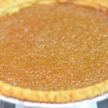 French Canadian Sugar Pie