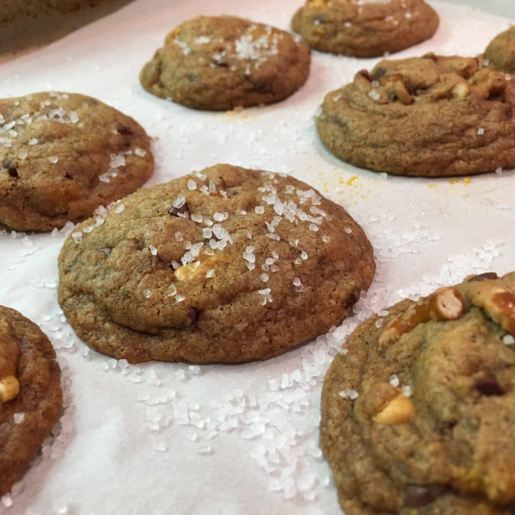 Sea Salt Butterscotch Cookies