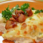 Chicken Alfredo Gnocchi Bake with Bacon