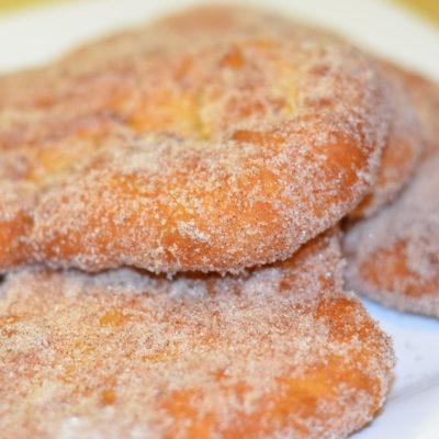 Cinnamon Sugar Beaver Tails