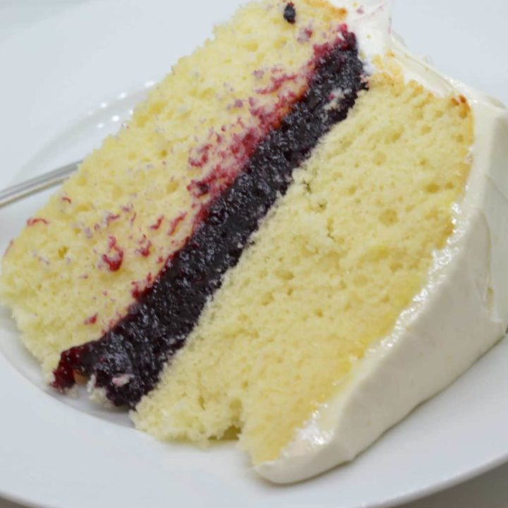 Mixed Berry Cake Filling