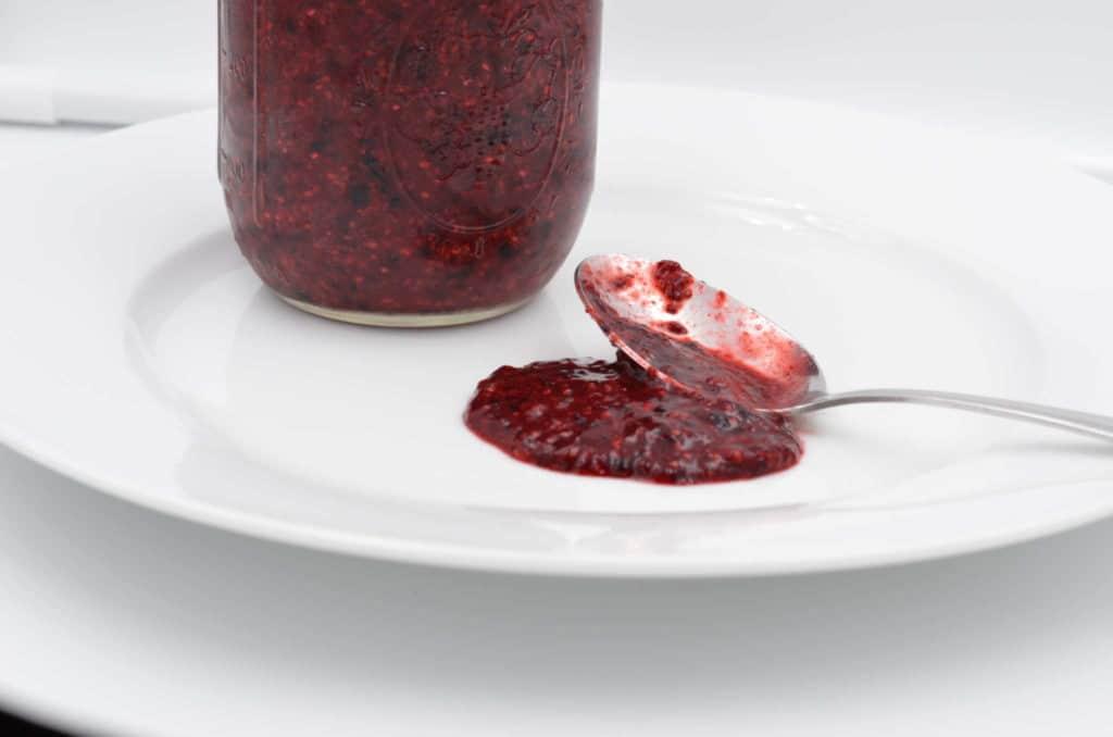 Pectin Free Mixed Berry Jam