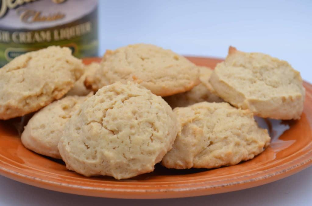 Irish Cream Shortbread Cookies