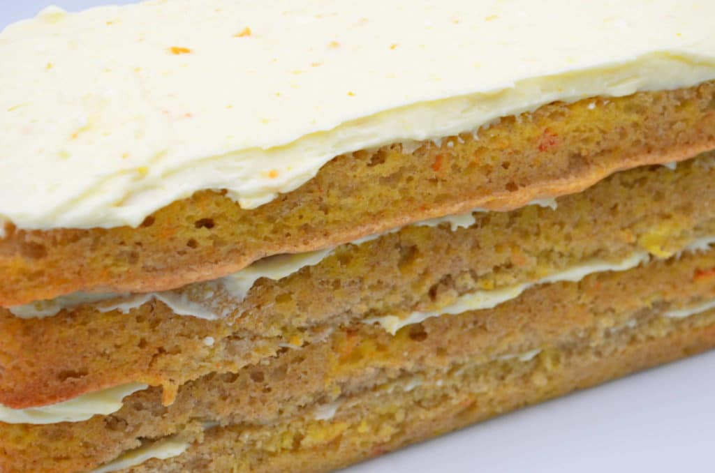 Spiced Orange Cake with Orange Mascarpone Icing