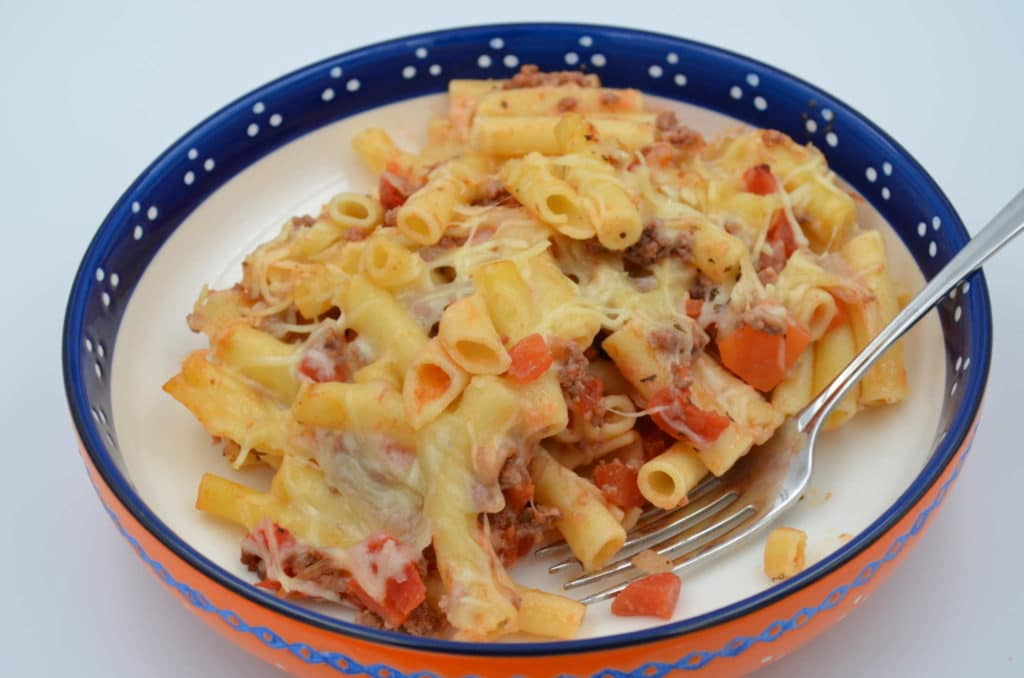 Baked Ziti with Tomatoes