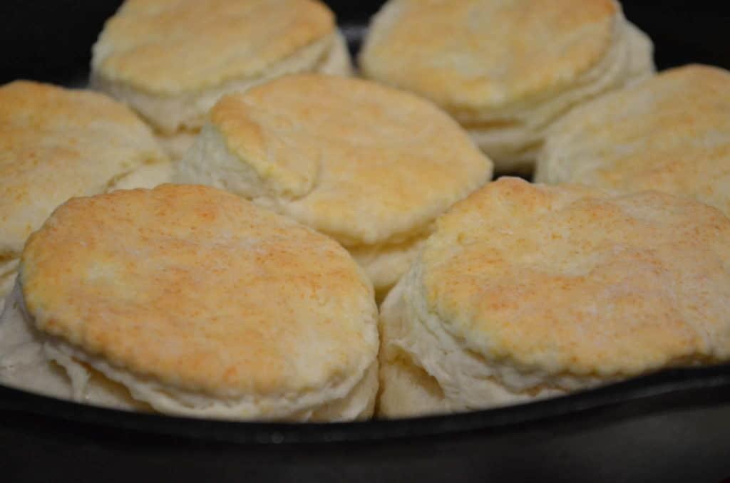Cast-Iron Skillet Buttermilk Biscuits