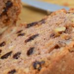 Delightful Walnut Raisin Zucchini Loaf