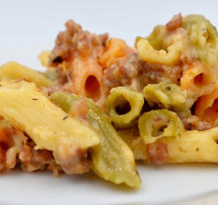 Italian Style Mac & Cheese