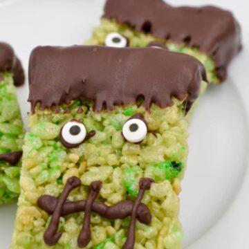 Spooky Halloween Rice Krispies Treats
