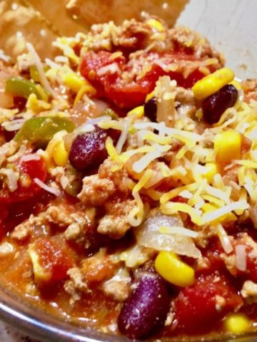 Colorado River Turkey Chili