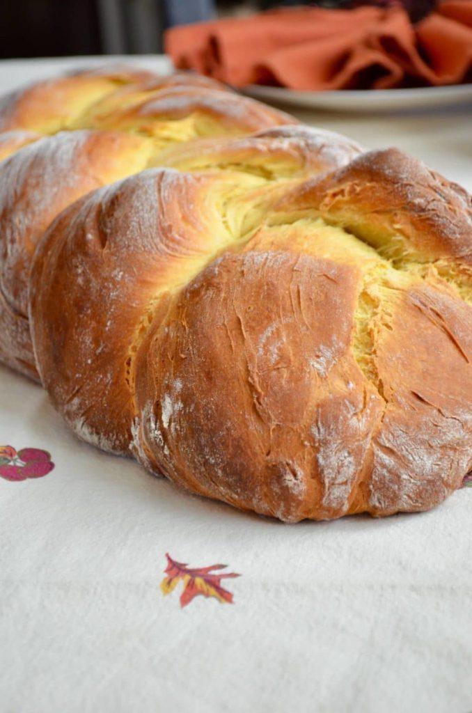 English Saffron Bread