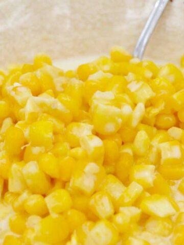 Slow Cooked Cream Corn