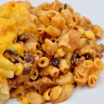 Mexican Taco Mac & Cheese
