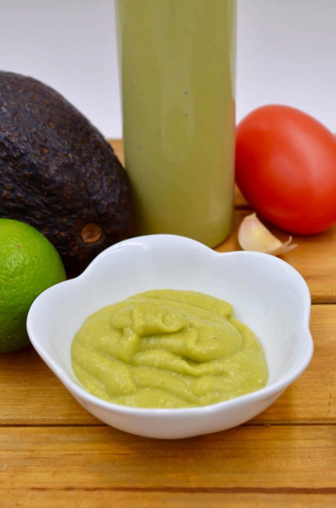 Habanero Avocado Cream Sauce