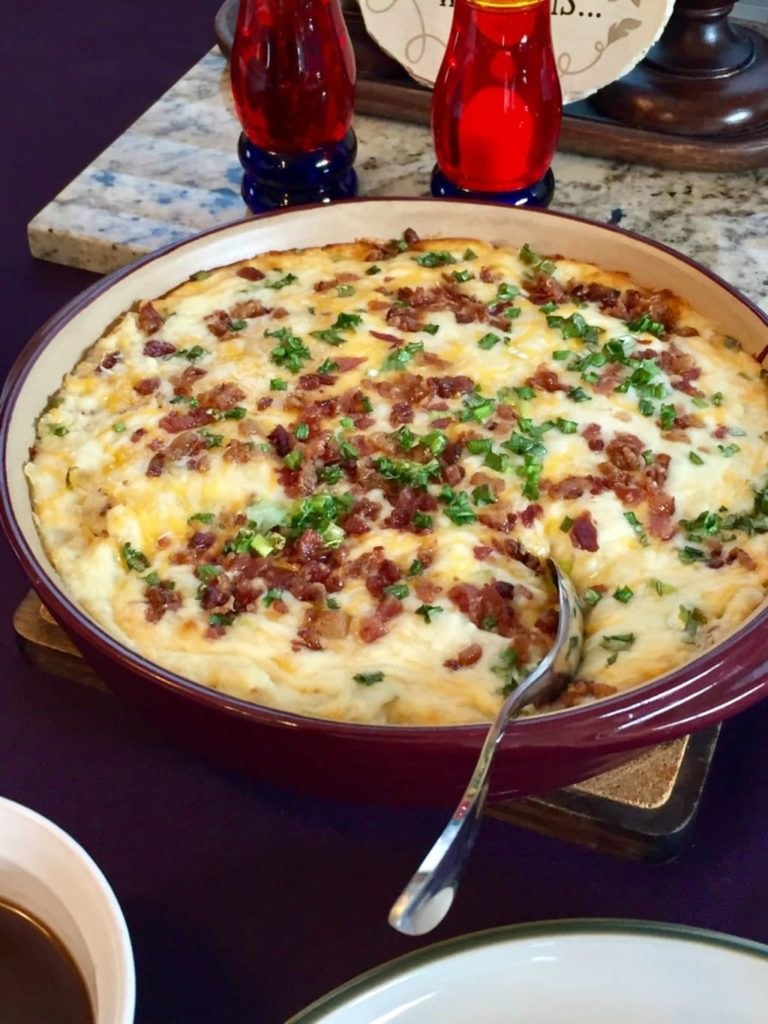 Pam's Twice Baked Potato Casserole