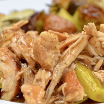 Shredded Mississippi Chicken