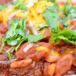 Spicy Chorizo and Bean Chili