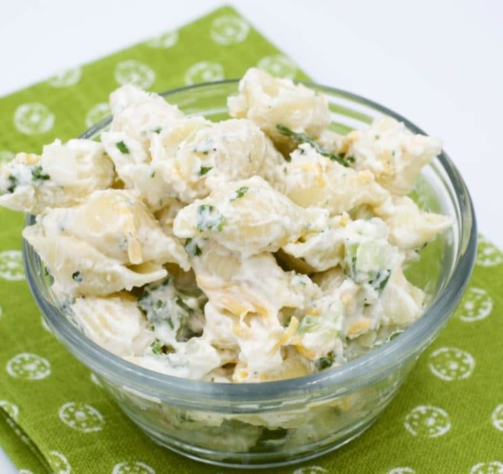 Creamy Ranch Macaroni Salad