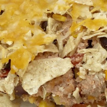 Nacho Turkey Casserole