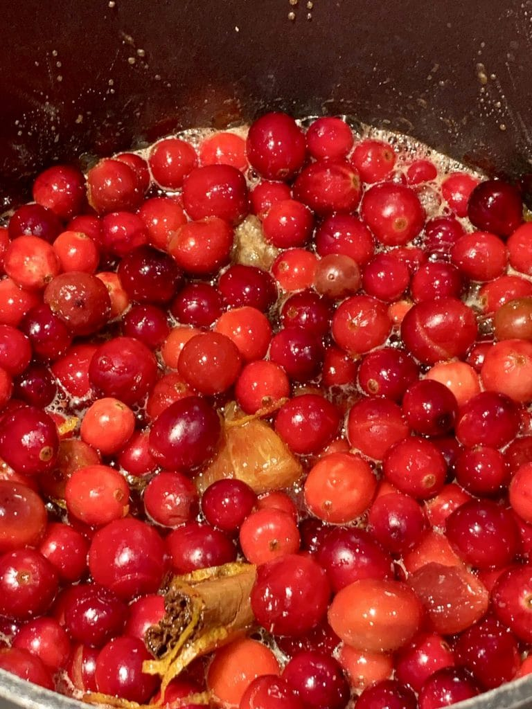 Cranberry Sauce with Whiskey