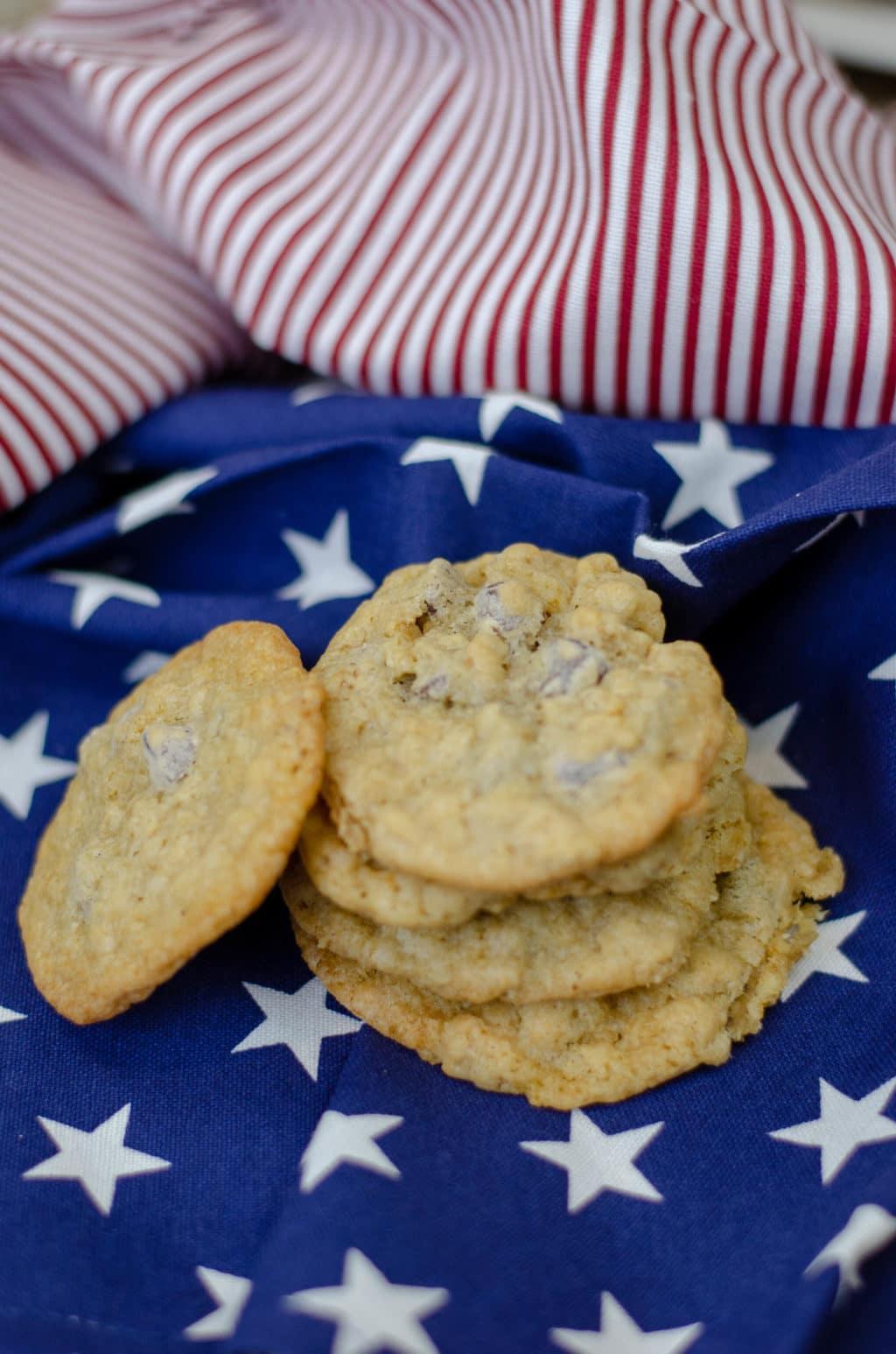 Barbara Bush's Famous Chocolate Chip Cookies
