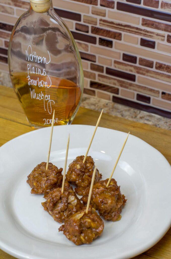 Fantastic Bourbon Meatballs