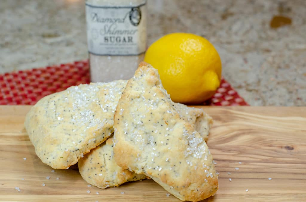 Lemon Poppy Seed Scones