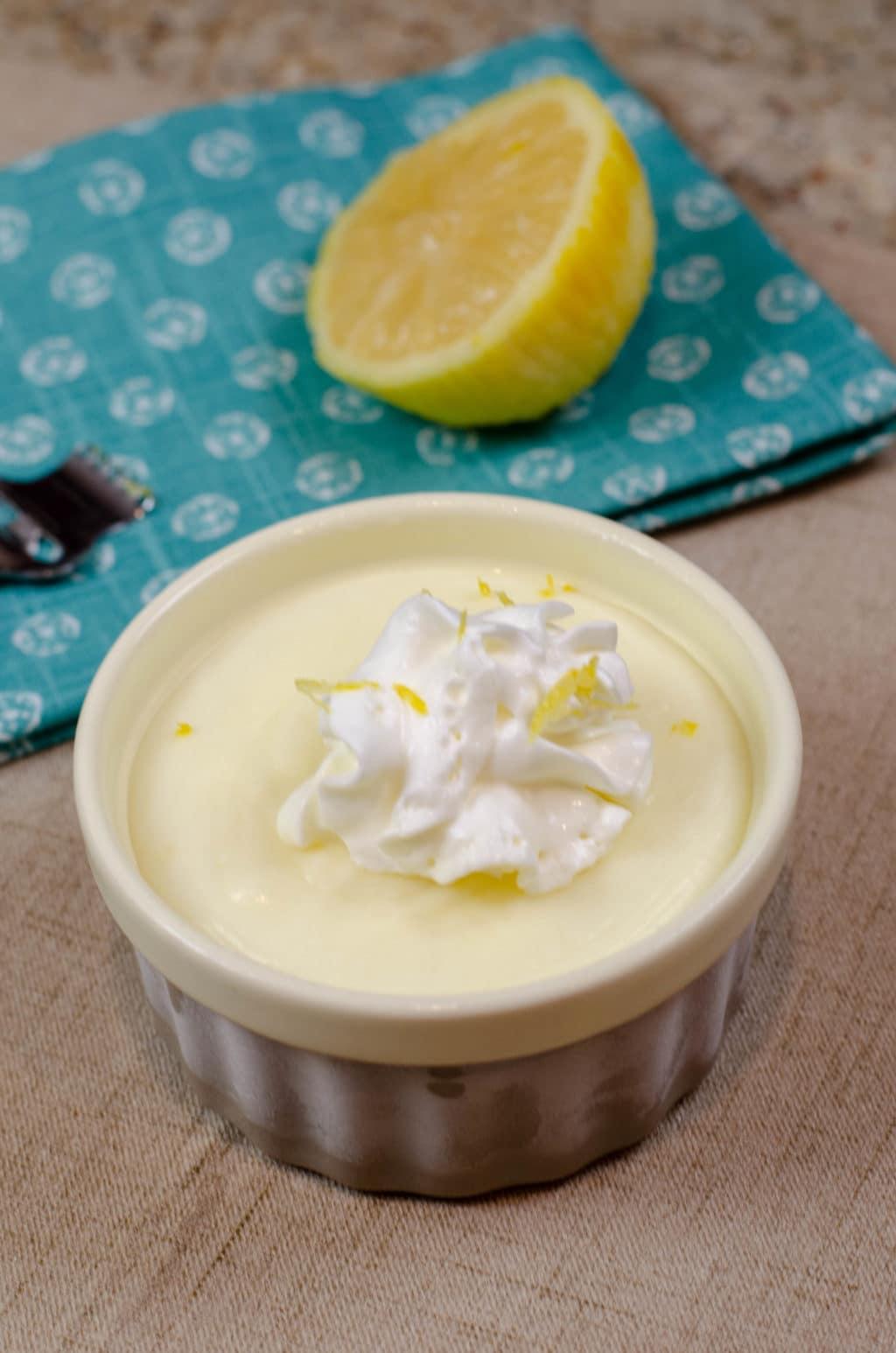 Lemon Pot de Crème