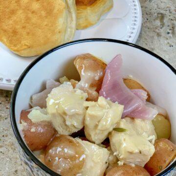 Instant Pot Lemon Rosemary Chicken and Potatoes
