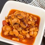 Instant Pot BBQ Baked Beans