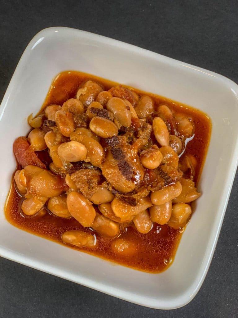 Instant Pot BBQ Baked Beans