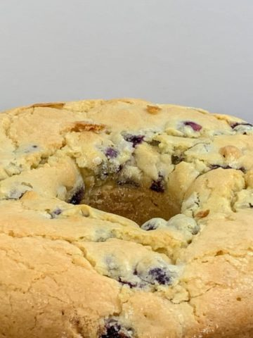 Blueberry Pound Cake