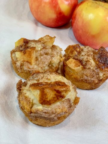 Cinnamon Apple Biscuits