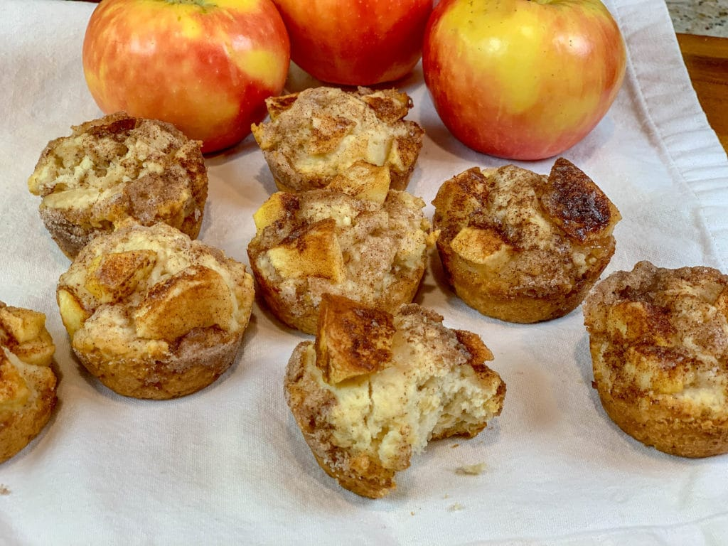 Cinnamon Apple Biscuits