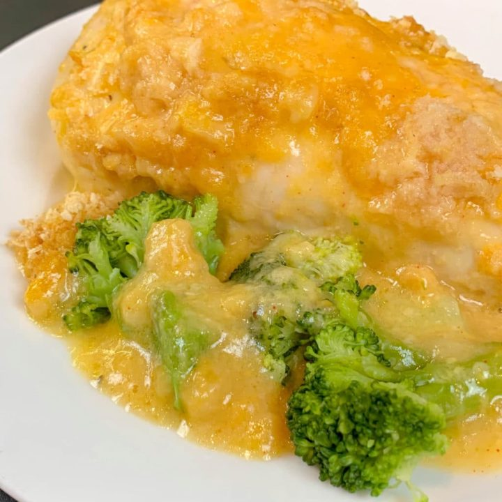 Copycat Cracker Barrel Broccoli Cheddar Chicken Casserole