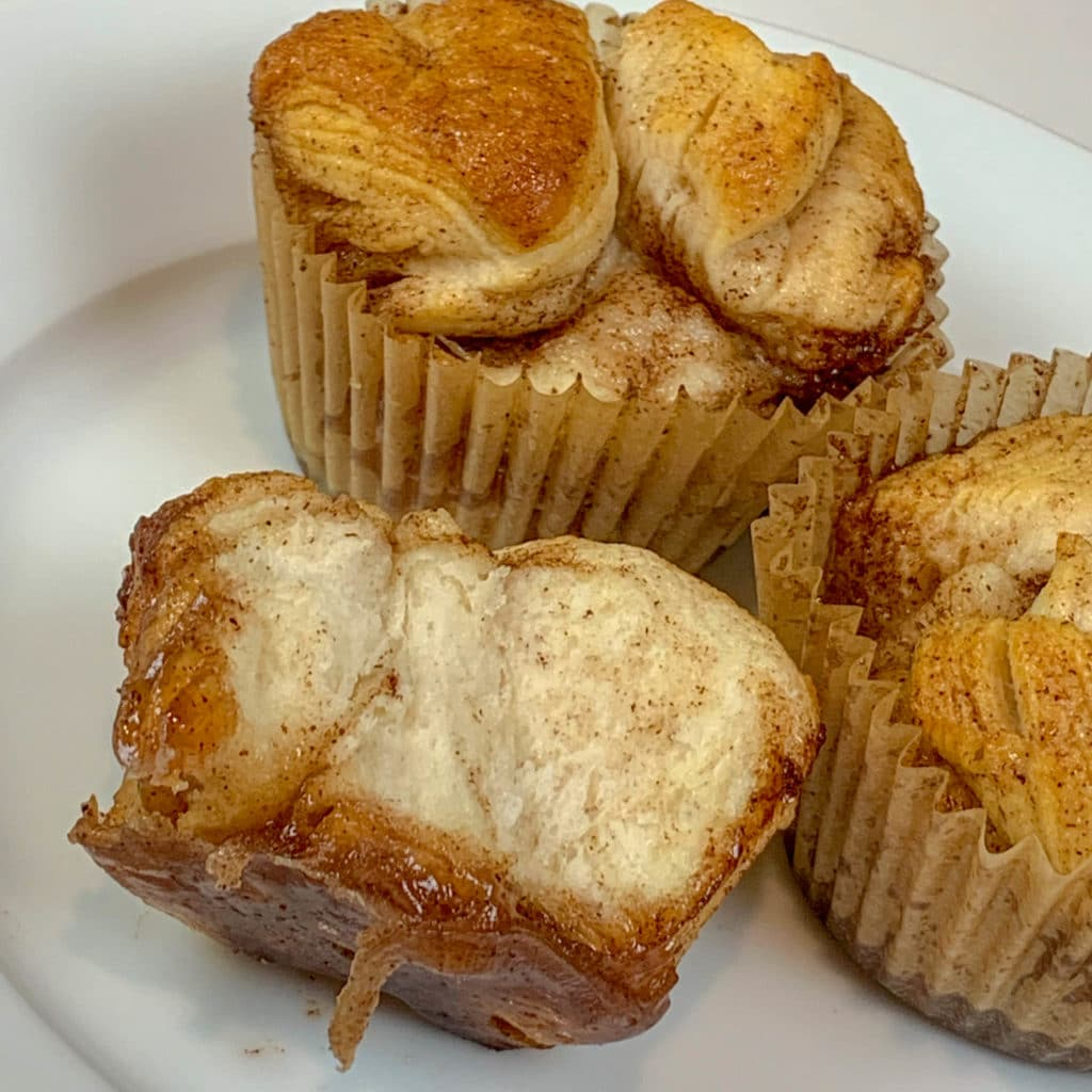 Maple Syrup Monkey Bread Muffins