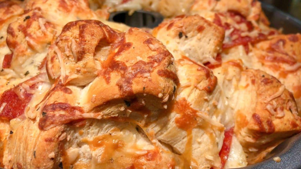 Pull-Apart Pizza Bread