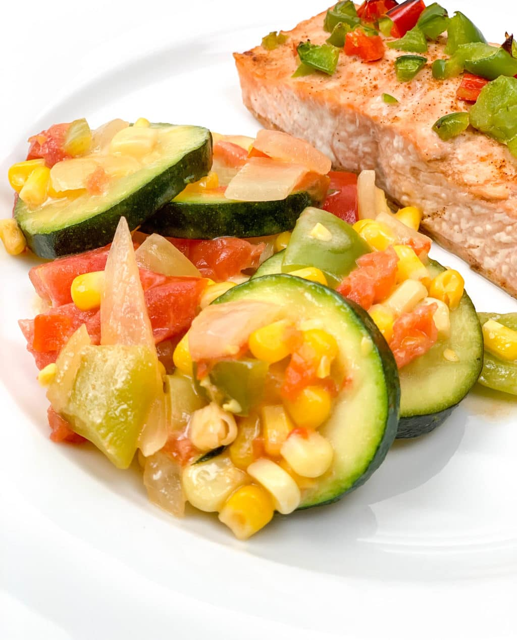 Zucchini with Corn