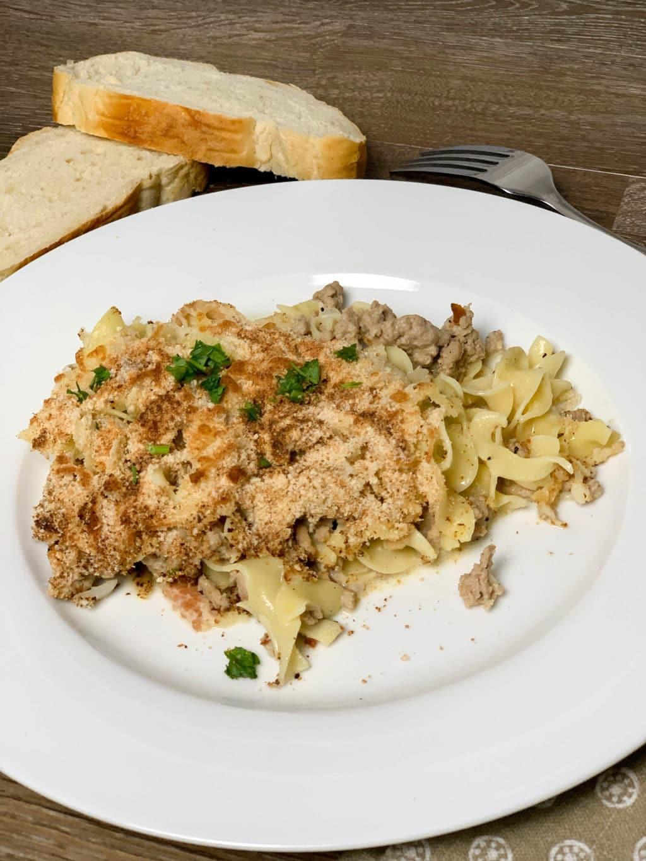 Turkey Noodle Casserole