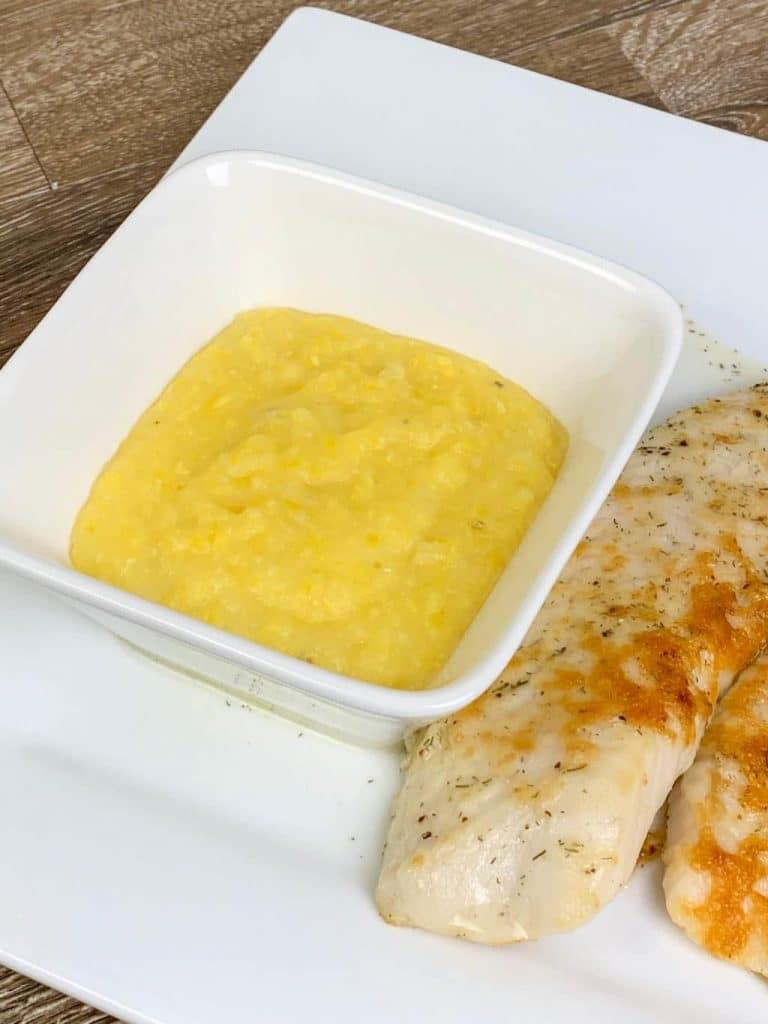 Creamy Polenta with Parmigiano-Reggiano