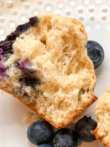 Blueberry Puff Muffins