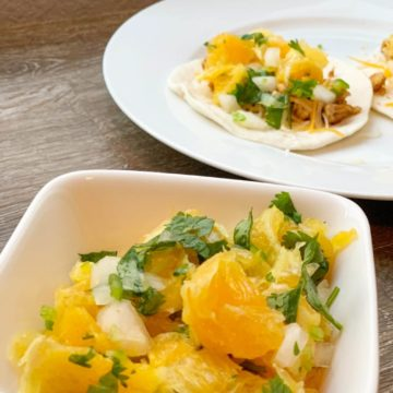 Orange Onion Salsa