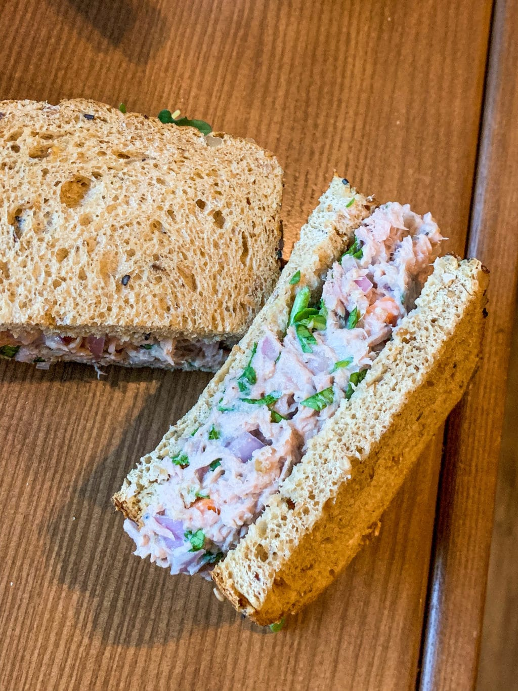 Lemon Pepper Tuna Sandwiches
