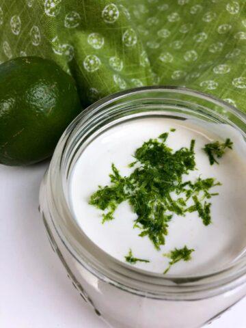 Garlic Lime Crema