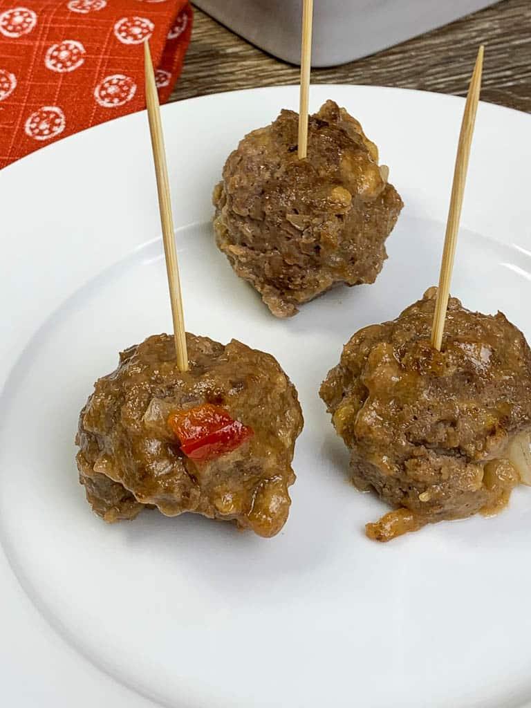 Slow Cooker Sweet & Sour Meatballs